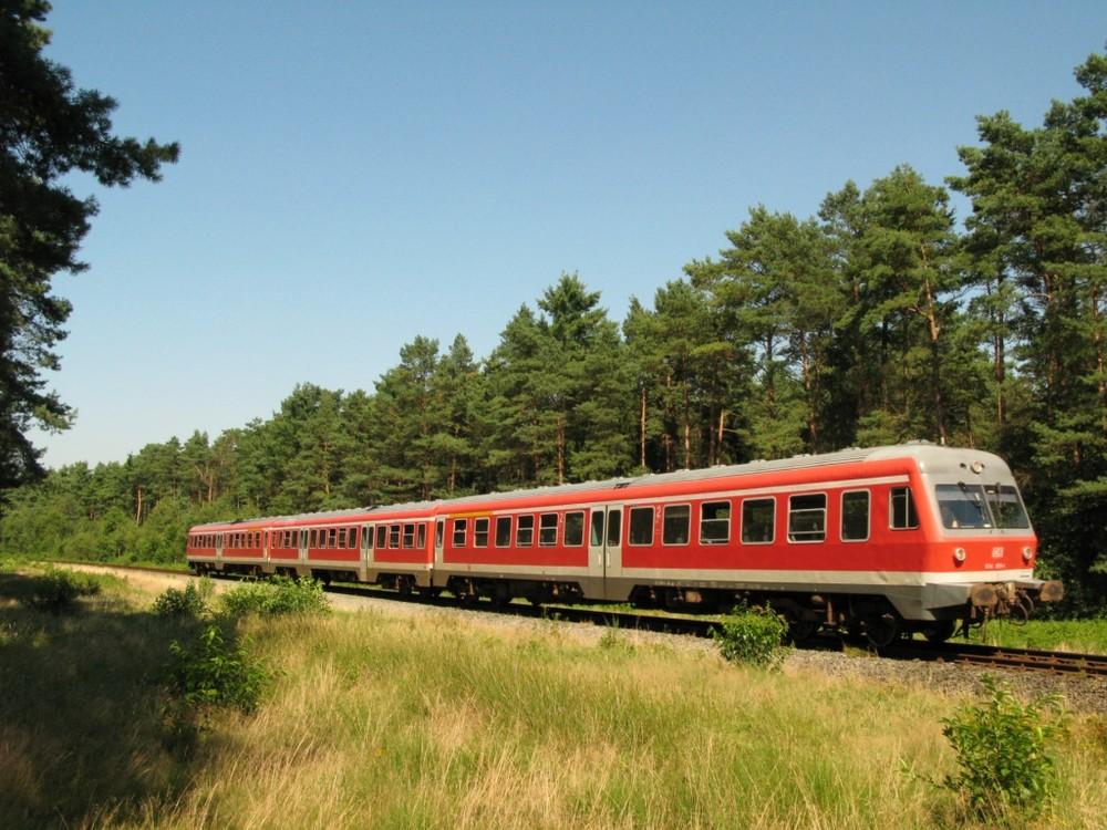 An der Heidebahn Buchholz - Soltau bei Handeloh