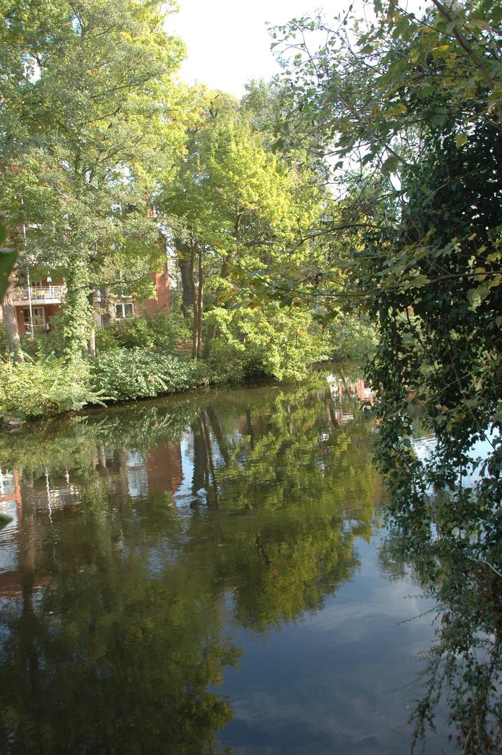 An der Ilmenau in Lüneburg