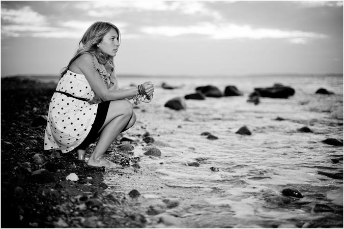 An der Küste