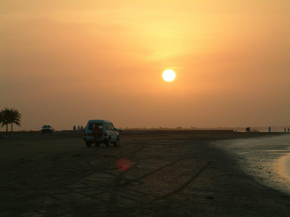 An der Küste des Golf von Oman