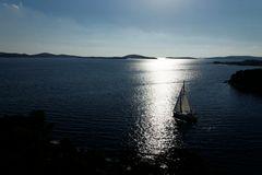 An der Küste Kroatiens