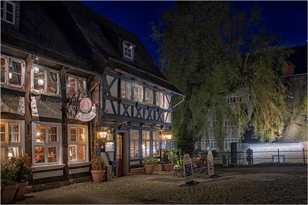 An der Lohmühle in Goslar