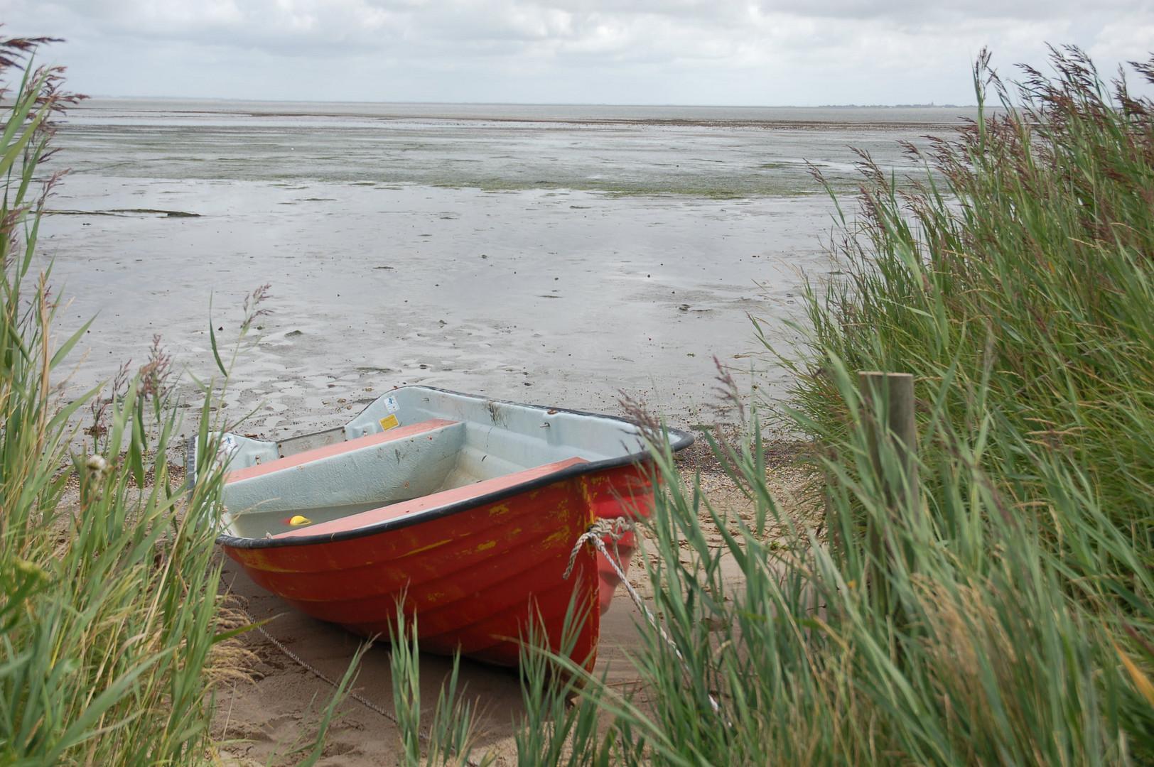 an der Nordsee (Dänemark)