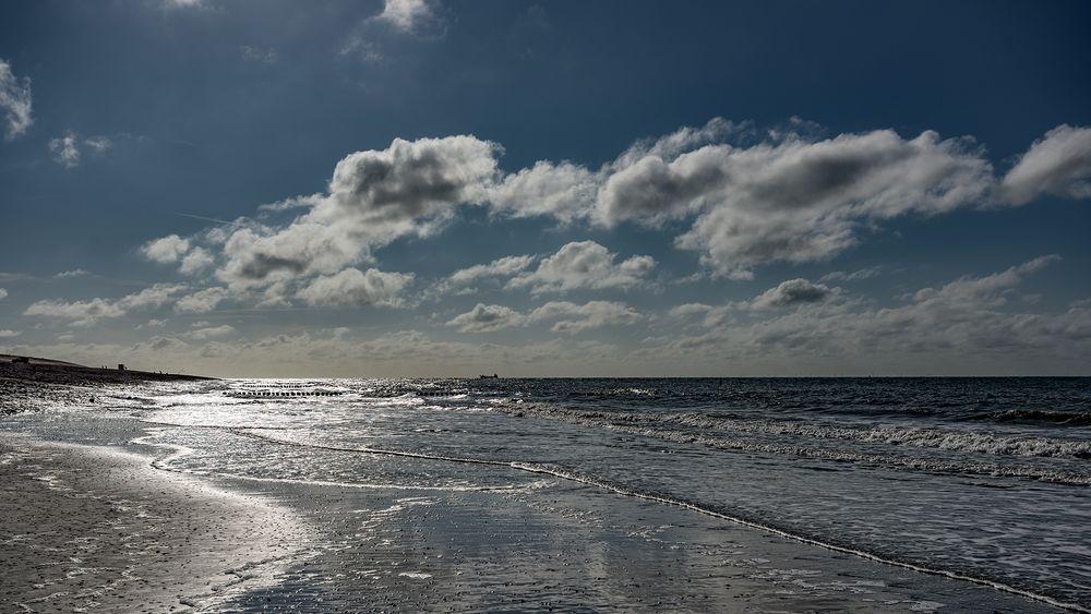 an der Nordseeküste.............