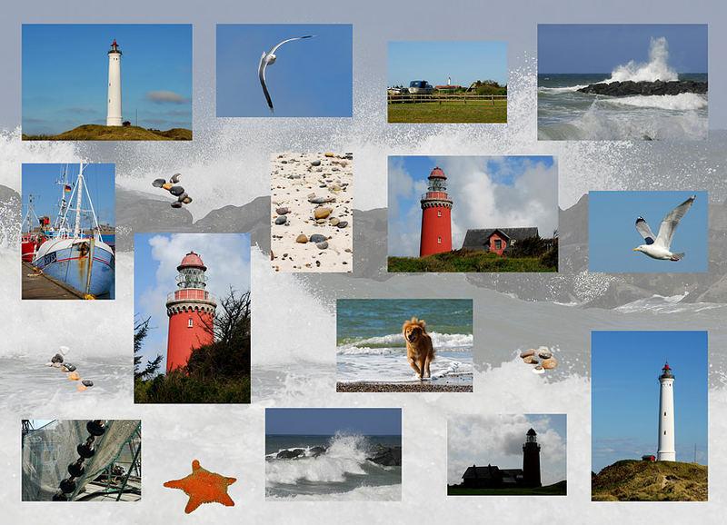 An der Nordseeküste von Dänemark