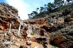 An der Playola auf der Halbinsel Sa Foradada
