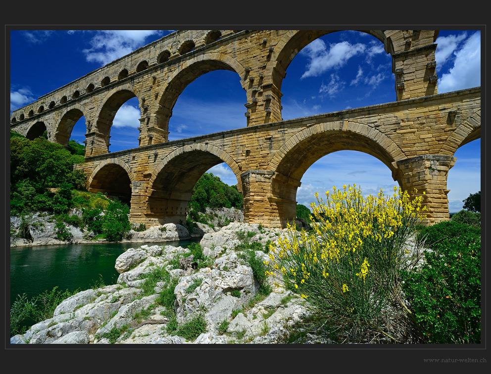 An der Pont du Gard