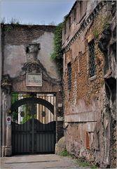 ... an der Porta San Pancrazio ...