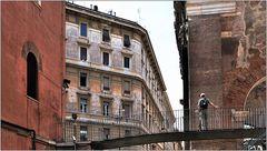 ... an der Portica di Ottavia ...