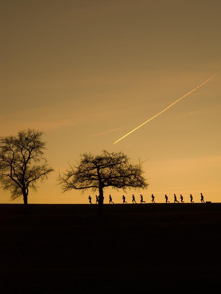 An der Sonne entlang