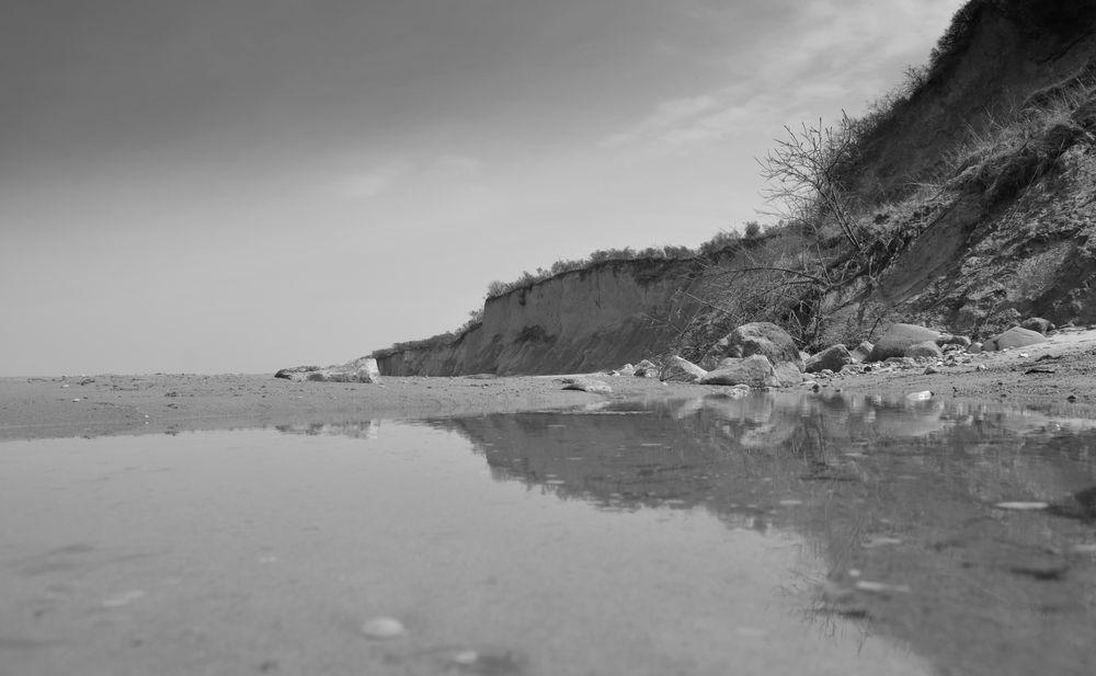 An der Steilküste