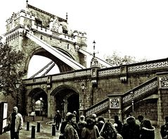 An der Tower Bridge