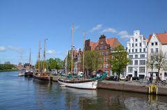 An der Trave in Lübeck