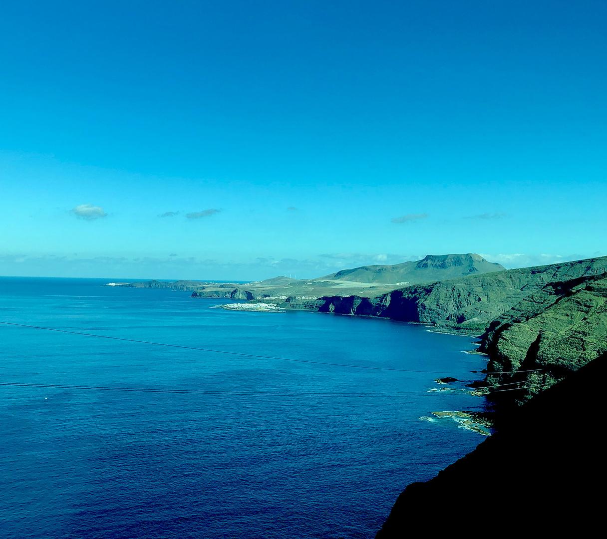 An der Westküste von Gran Canaria