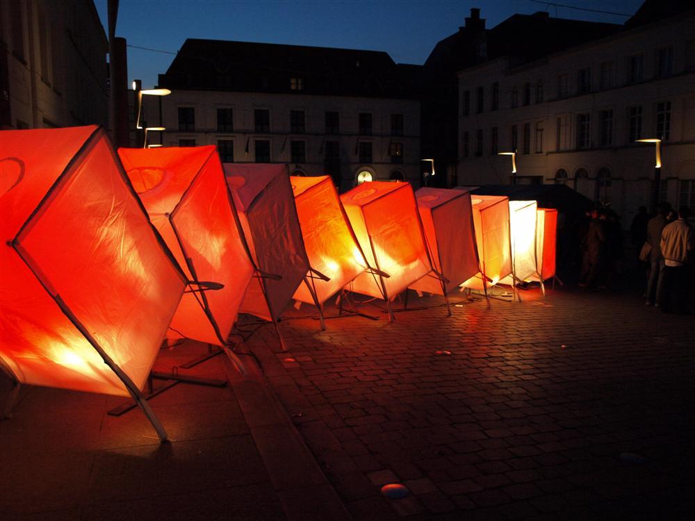 An evening in Tournai