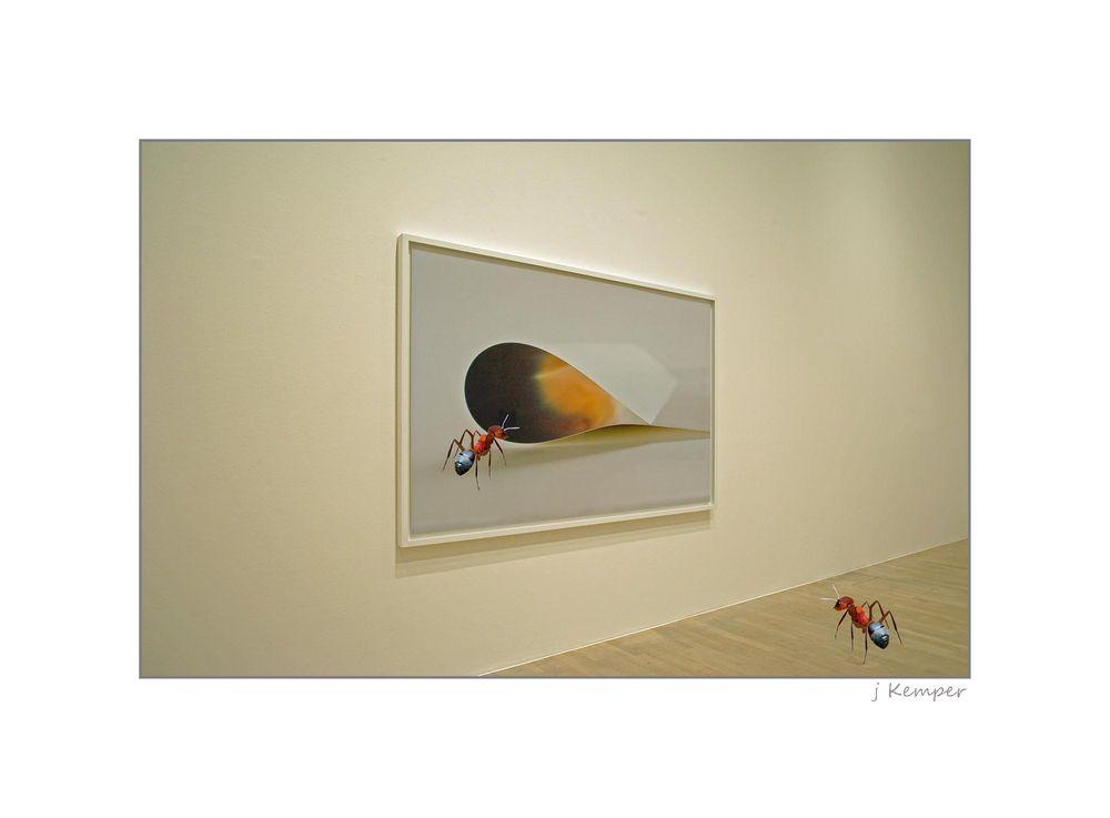 - an Kunst interessiert -