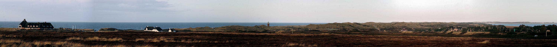 an manchen stellen sehr schmal da kann man die nordsee und das wattenmeer gleichzeitig sehen