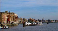 An und auf der Themse