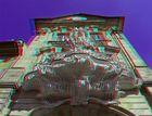 Anaglyphe - Bamberg - Balkon des Alten Rathauses