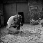 Analogfotografin auf der Pirsch - 3