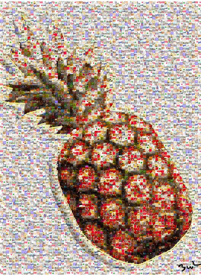 Ananas mosaique