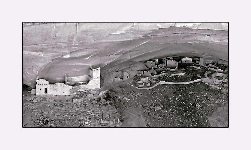 Anazasi Pueblos im Canyon de Chelly