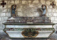 Ancien autel de l'Eglise Saint-Jacques à Aubeterre sur Dronne