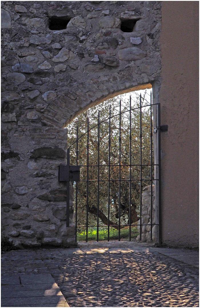 Ancienne poterne du Château de Moniga del Garda