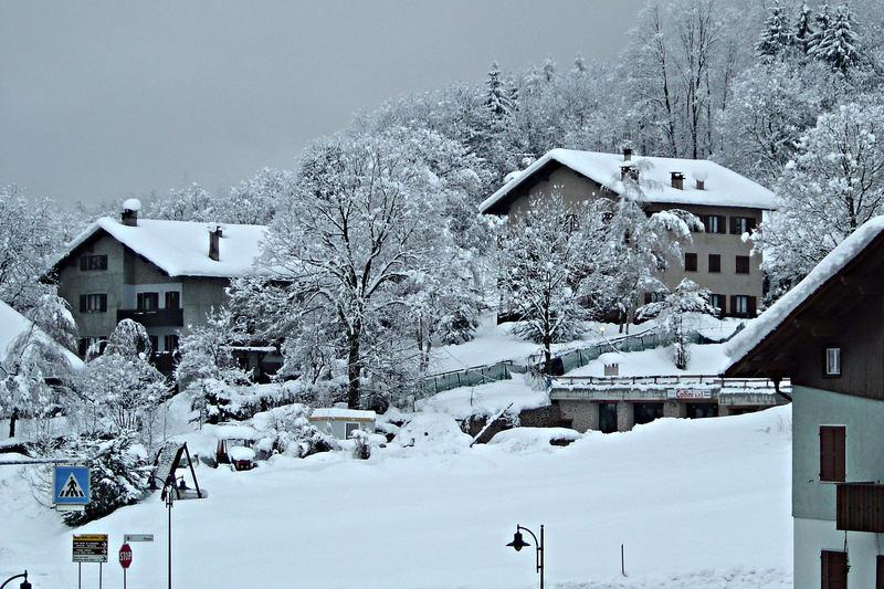 ...ancora neve