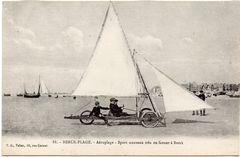 ancêtre du char à voiles