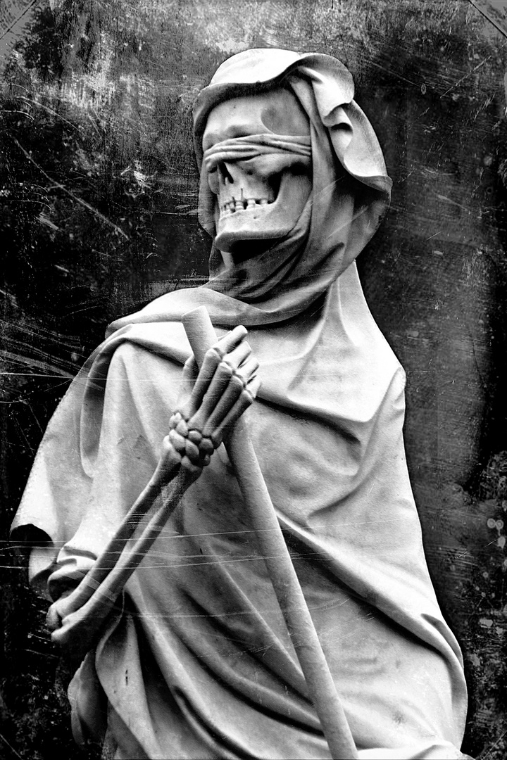 And death smiles...