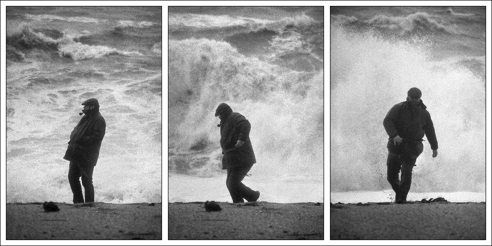And he said to the wave: