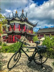 * And today by bike through China ...