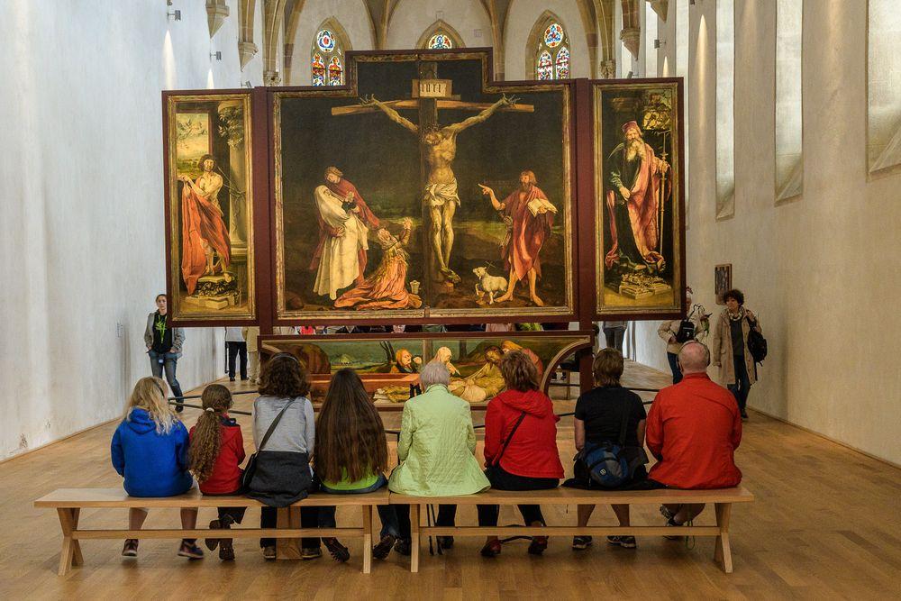 Andacht Vor dem Altar