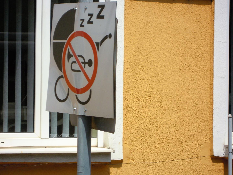 Andere Länder, andere Schilder.