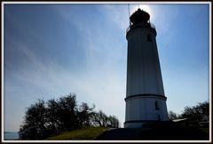 Andere Seite vom Leuchtturm Dornbusch