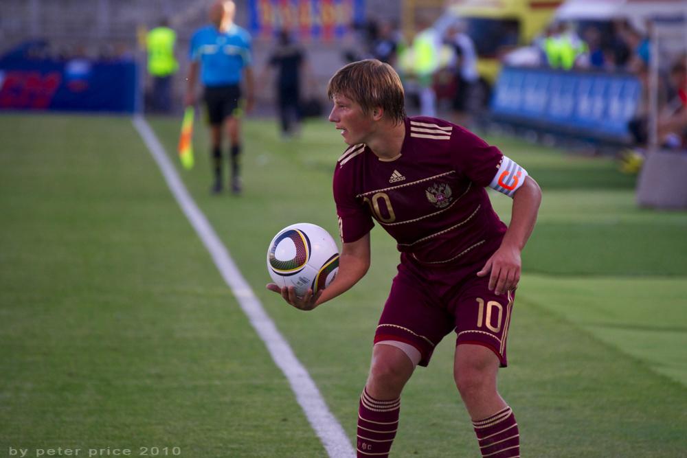 Andey Arschavin. Russland - Bulgarien