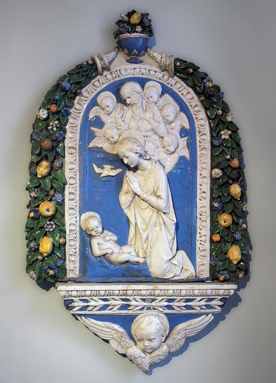 Andrea della Robbia · Madonnen-Relief