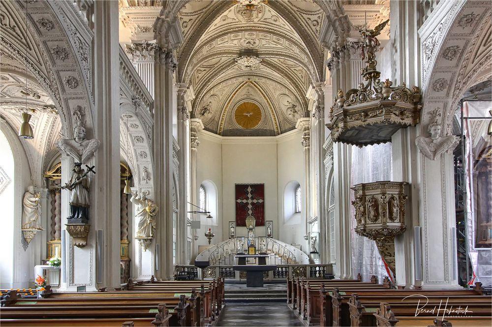 Andreaskirche zu Düsseldorf ...