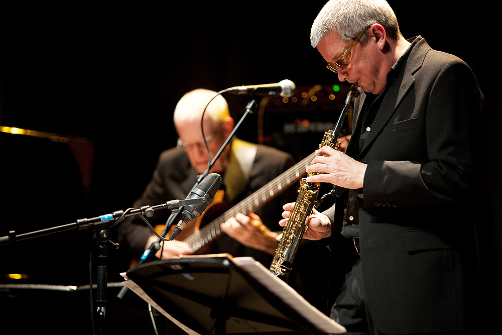 Andy Sheppard   saxophones