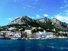 Anfahrt auf Capri
