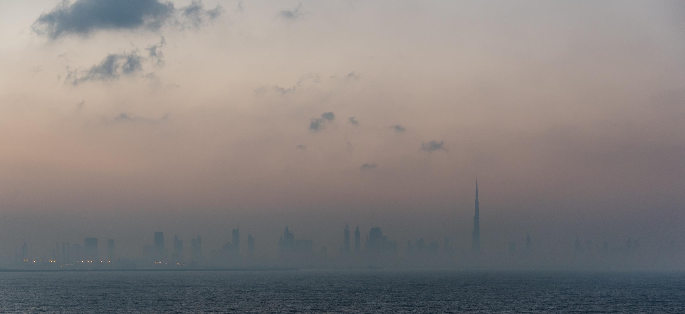 Anfahrt auf Dubai