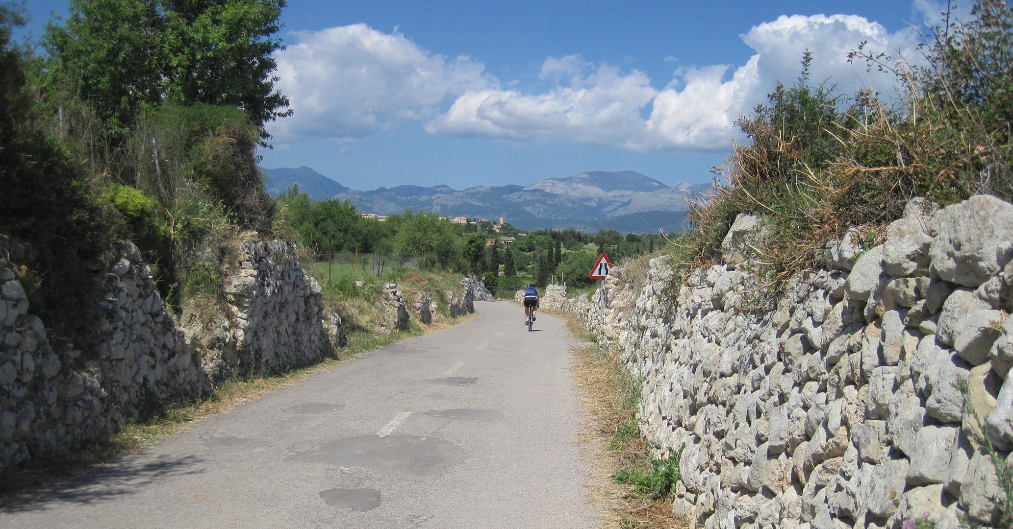 Anfahrt auf Muro