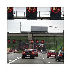 anfahrt Kennedytunnel (Belgium)