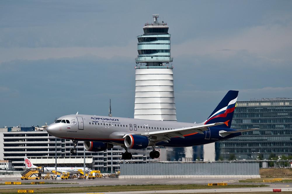 Anflug Aeroflot