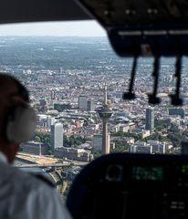 Anflug auf Düsseldorf