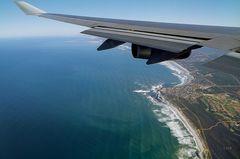 Anflug auf Kapstadt