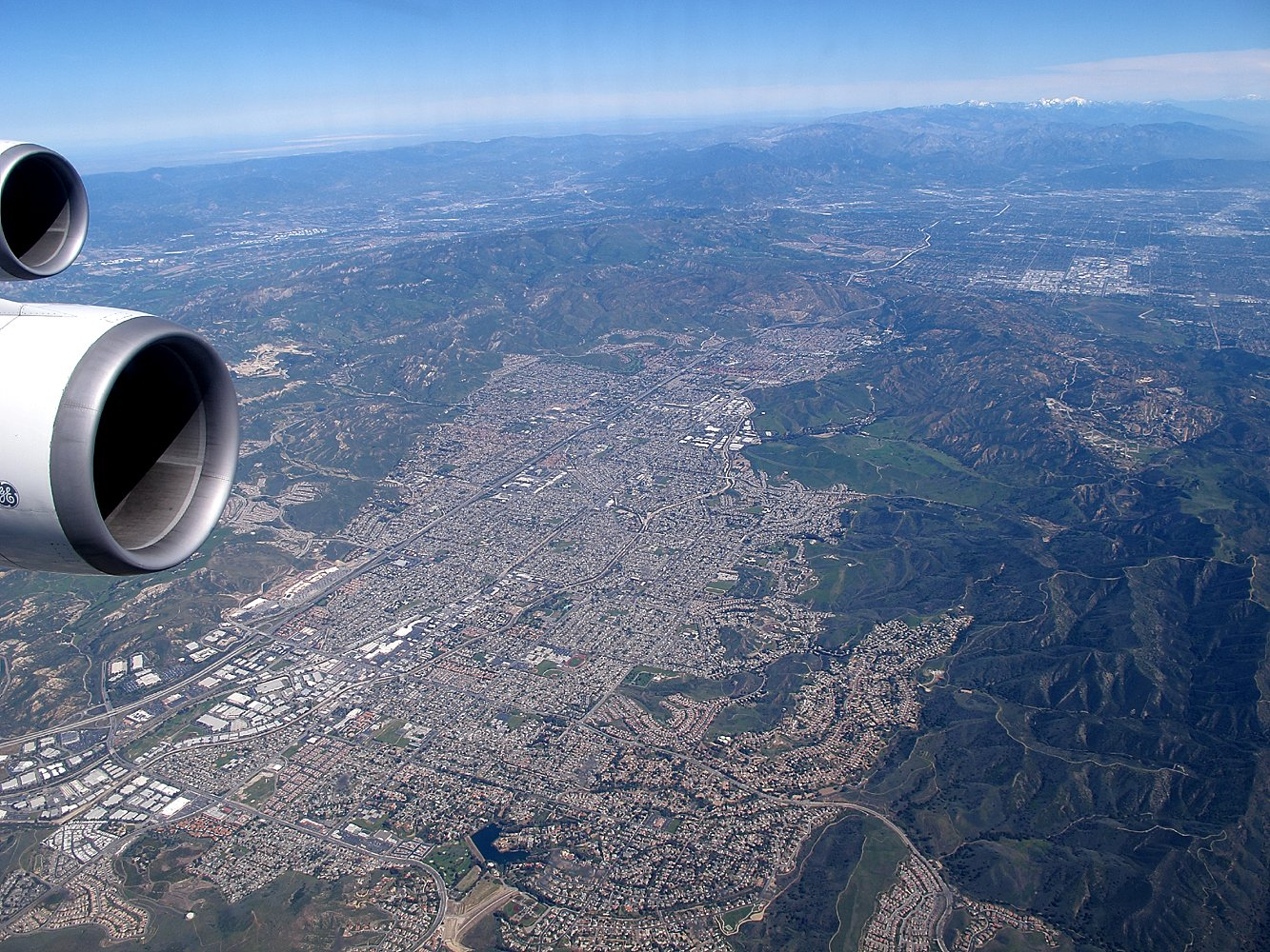 Anflug auf L.A.
