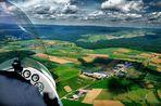 Anflug auf Mosbach