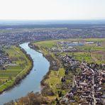 Anflug auf Seligenstadt